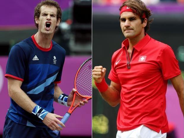 Czy Andy Murray spełnie marzenia kibiców i pokona Rogera Federera? (fot. Getty Images)