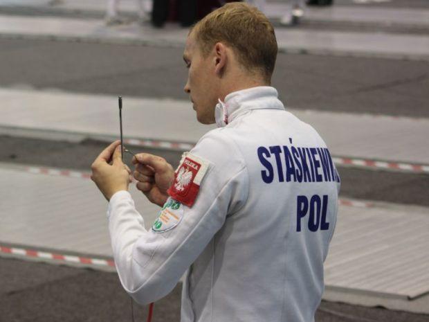 Szymon Staśkiewicz słabo rozpoczął rywalizację w pięcioboju nowoczesnym (fot. PAP)