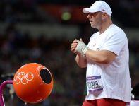 Szymon Ziółkowski szykuje się do swojego rzutu (fot. Getty Images)