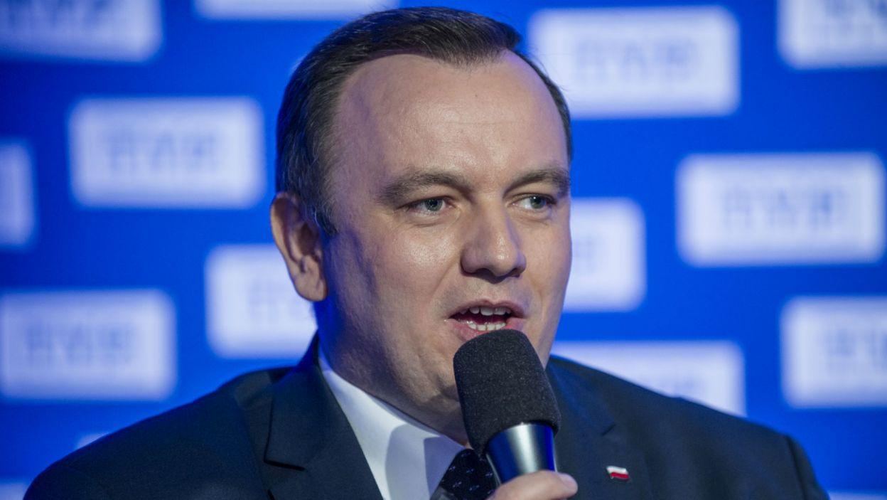 Chełstowski zapewnił, że śląski samorząd stanie na wysokości zadania. – To promocja naszego województwa – podkreślił (fot. N. Młudzik/TVP)