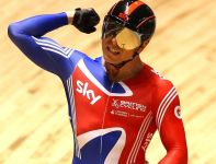 Chris Hoy zdobył złoty medal w keirinie (fot. Getty Images)