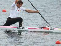 Niemiec Brendel został mistrzem olimpijskim w rywalizacji kanadyjek jedynek na 1000 metrów (fot. Getty Images)