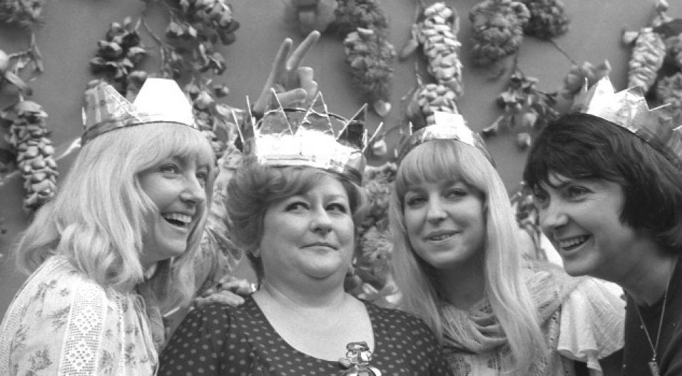 Maryla Rodowicz, Danuta Rinn, Urszula Sipińska i Halina Kunicka (fot. TVP)