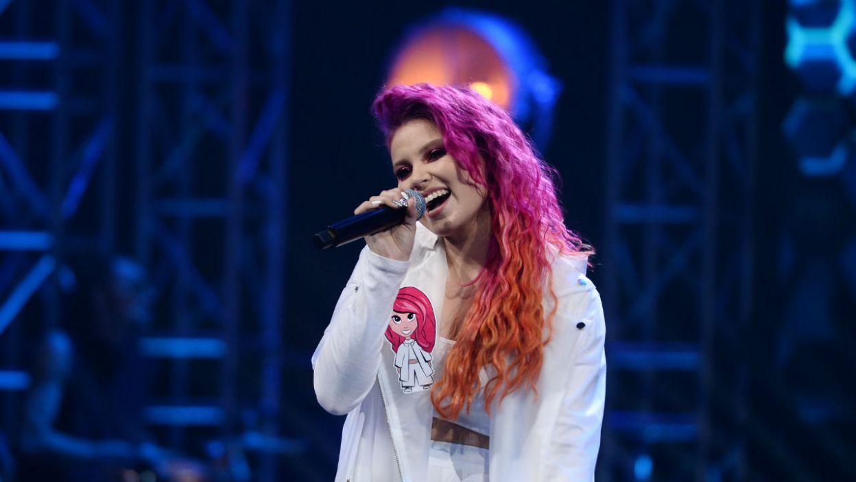 Marta Gałuszewska była specjalnym gościem The Voice Kids (fot. TVP)