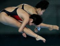Chinki Ruolin Chen i Hao Wang (fot. Getty Images)