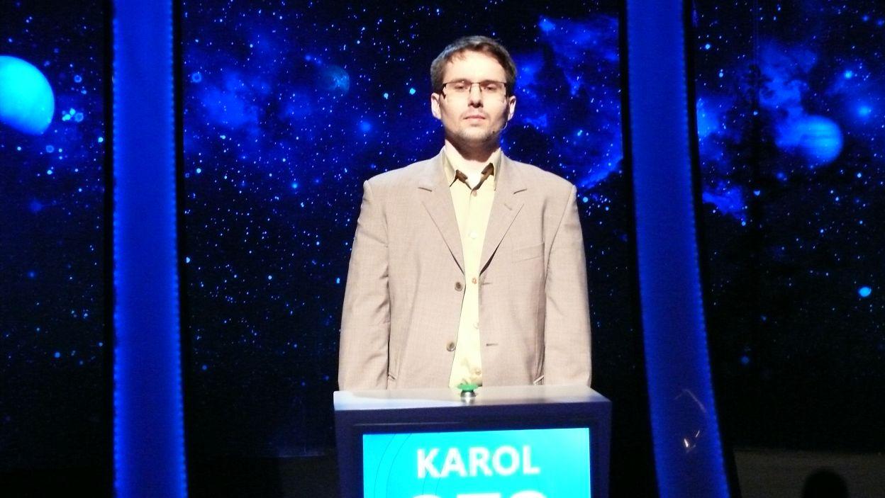 Karol Romaszko - zwycięzca 15 odcinka 105 edycji