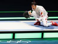 Lei Sheng – indywidualny mistrz olimpijski we florecie (fot. Getty Images)