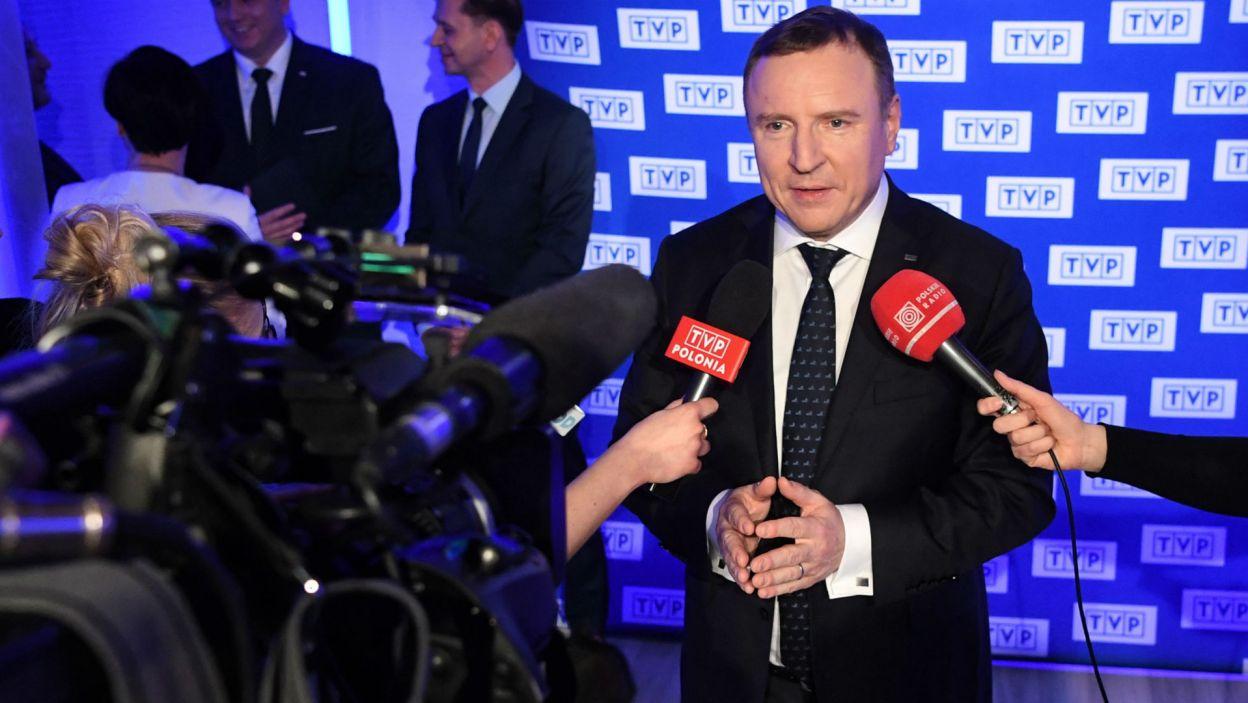– Jestem przekonany, że Eurowizja Junior w 2019 roku zostanie zapamiętana na lata – twierdzi prezes TVP (fot. P. Nowak/PAP)
