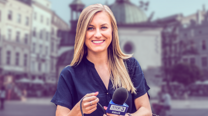 Monika Woźniak, fot. TVP