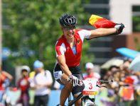 Triumfatorka wyścigu kobiet Sabine Spitz (fot. Getty Images)