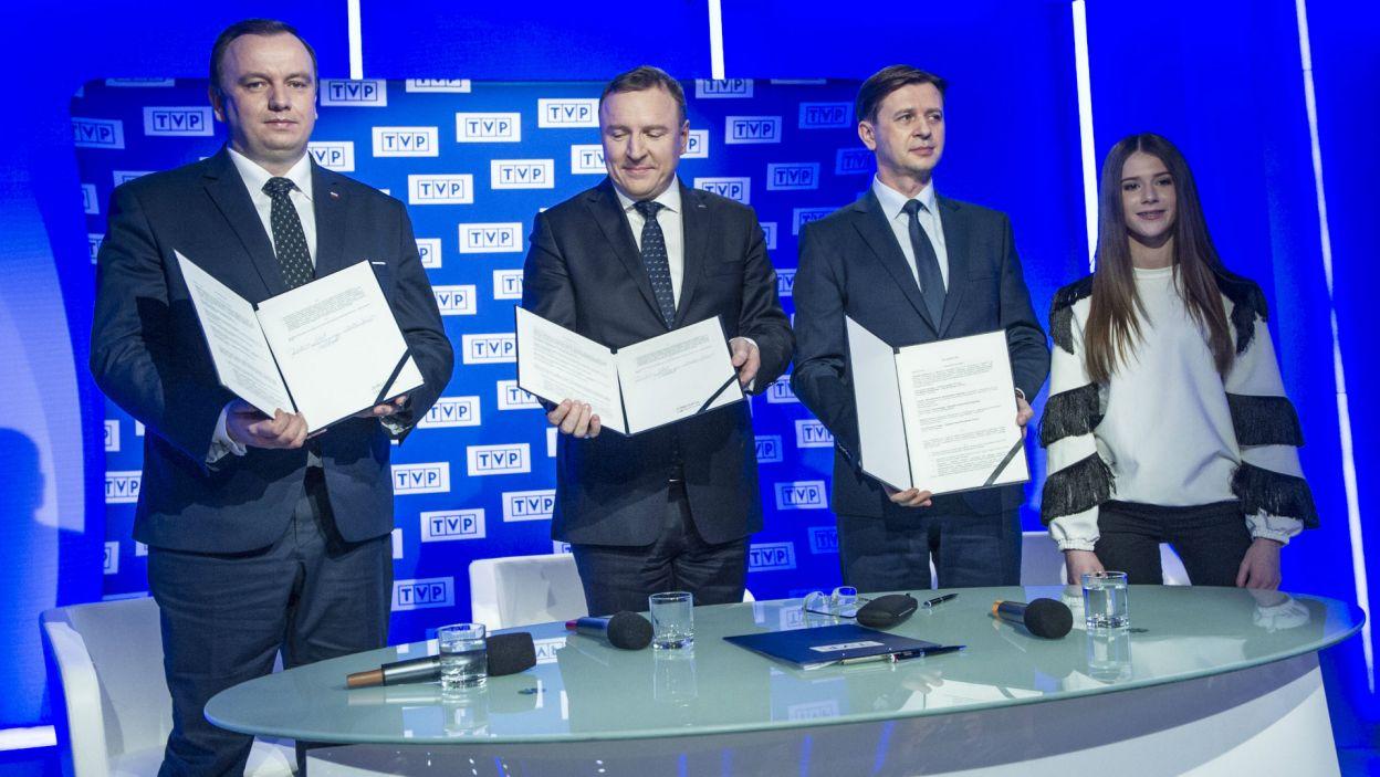 Decyzja podjęta, dokumenty podpisane. Najlepsi młodzi wokaliści Europy spotkają się w Arenie Gliwice 24 listopada (fot. P. Nowak/PAP)