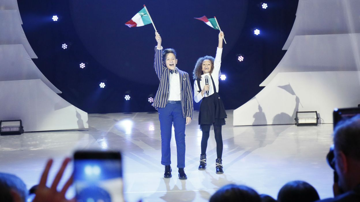 Podczas ceremonii ustalono kolejność występów (fot. Andres Putting/Eurovision)