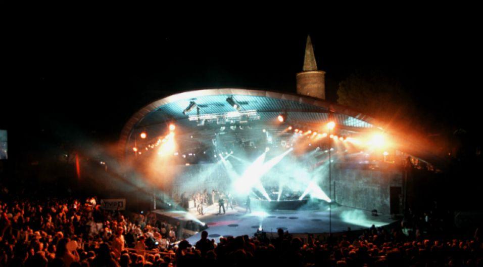 Amfiteatr Tysiąclecia w Opolu (fot. TVP)