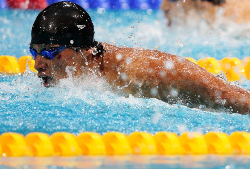 Takeshi Matsuda, brązowy medalista na 200 metrów stylem motylkowym (fot. Getty Images)