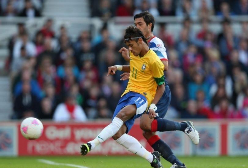 Neymar zapisał na swoim koncie gola i asystę (fot. Getty Images)