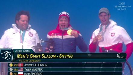Pjongczang: Igor Sikorski odebrał medal