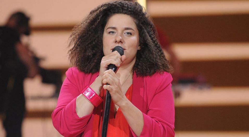 Barbara Wrońska, każdy jej utwór ma inny klimat i inną dynamikę (fot. N.Mludzik/TVP)