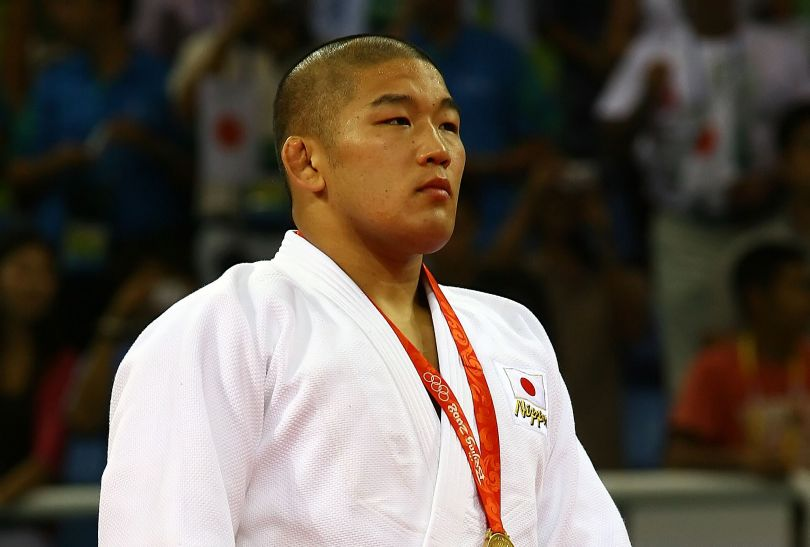 Satoshi Ishii sięgnął po złoty medal w kategorii powyżej 100 kg (fot. Getty Images)