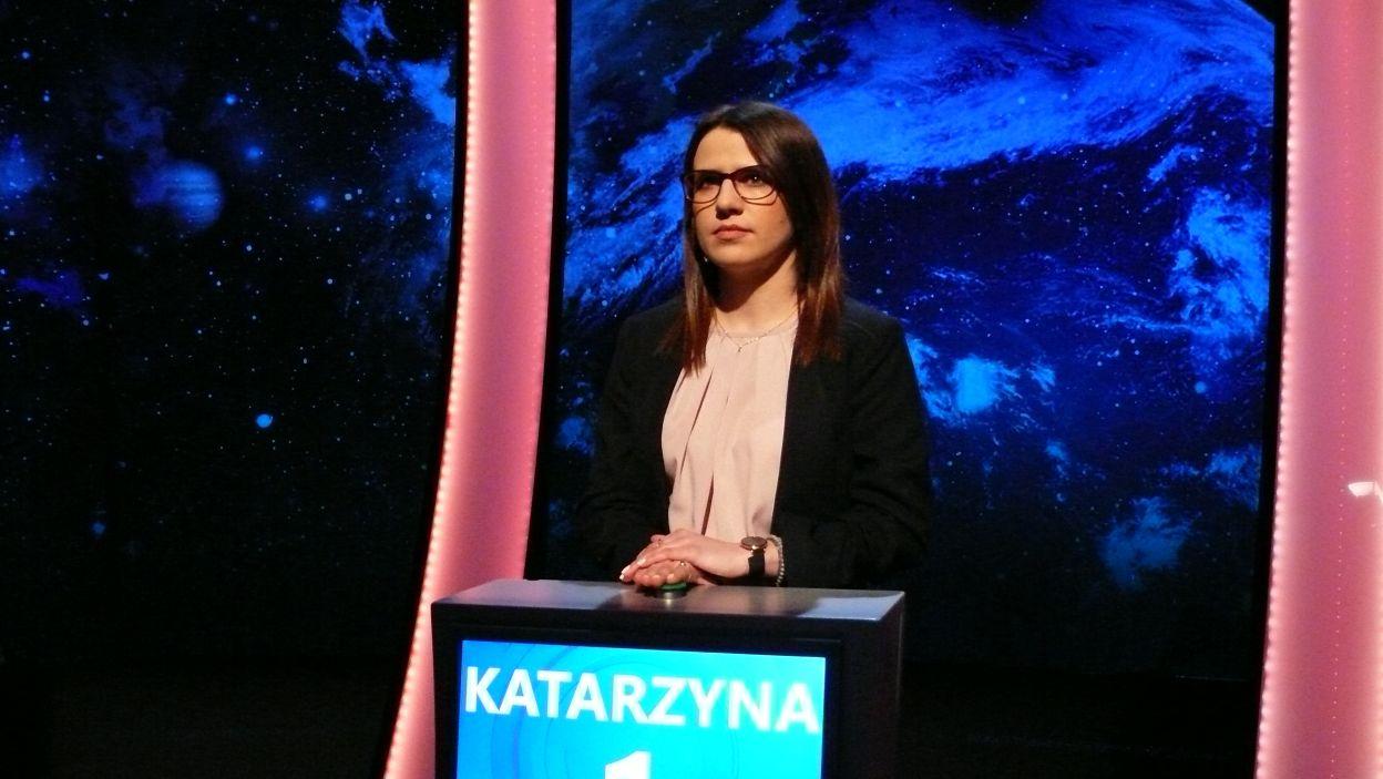 Pani Katarzyna wylosowała pierwsze stanowisko gry