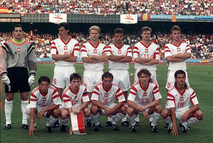 Polscy piłkarze zdobyli w Barcelonie w 1992 roku srebrne medale (fot. PAP)
