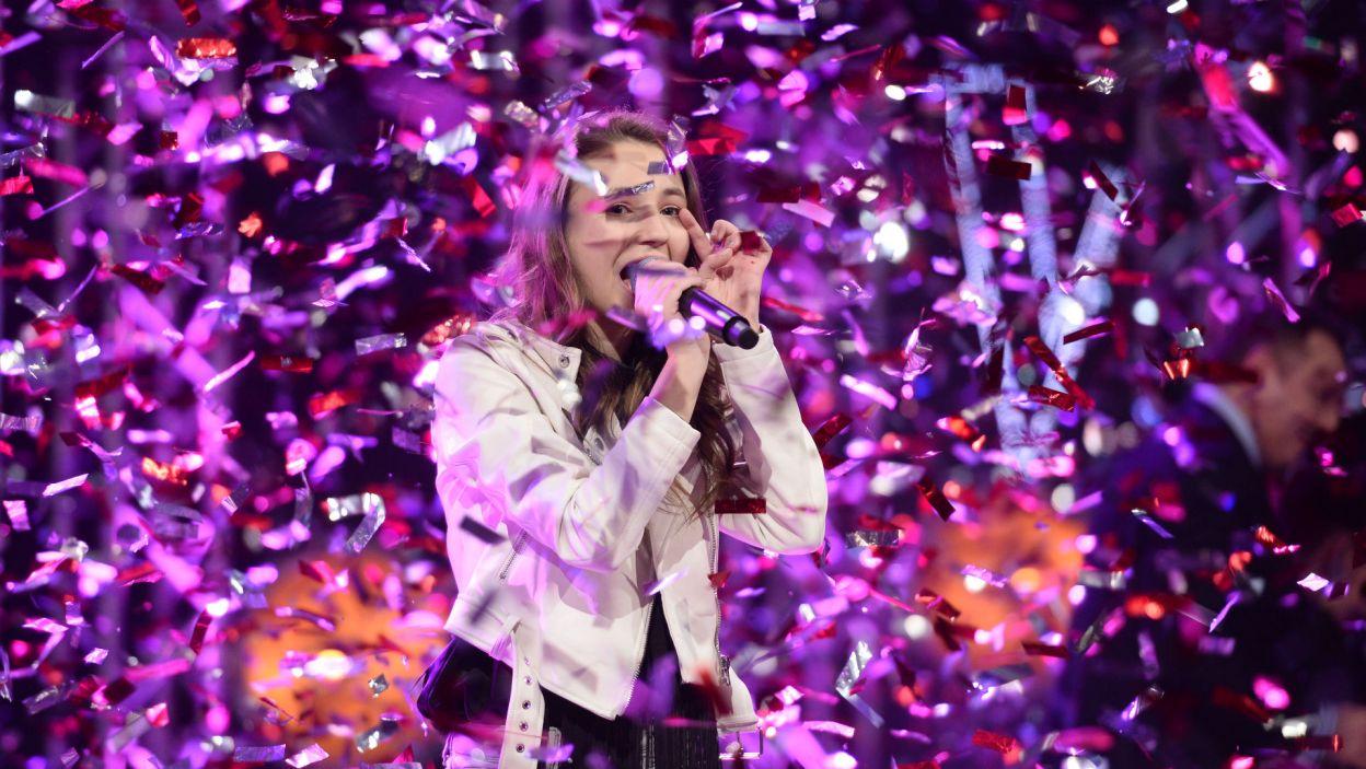 Triumfatorka na koniec jeszcze raz przypomniała o swoim niezwykłym talencie (fot. J. Bogacz/TVP)