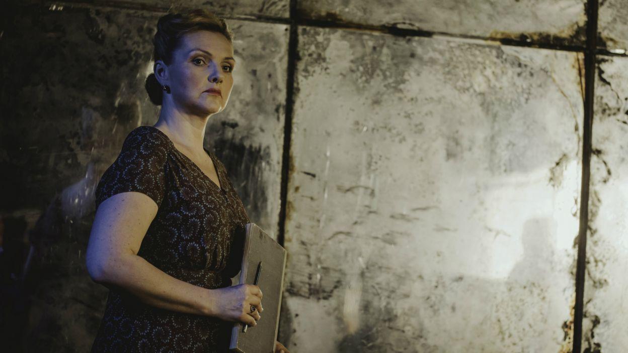 W pozostałych rolach, występują m.in. Ewa Konstancja Bułhak, która zagrała hrabinę Różę (fot. S. Loba/TVP)