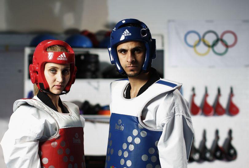 Cztery punkty można dostać za kopnięcie przeciwnika w głowę (fot. Getty Images)