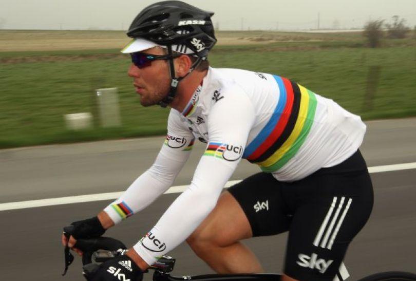 Mark Cavendish – wielka nadzieja gospodarzy w wyścigu ze startu wspólnego (fot. Getty Images)
