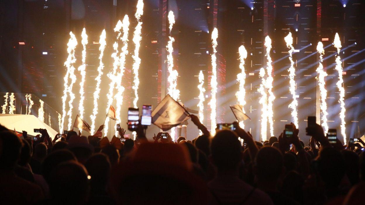 Podobnie jak podczas pierwszego półfinału, atmosfera na widowni w trakcie drugich eliminacji była niezapomniana (fot. Andres Putting/EBU)