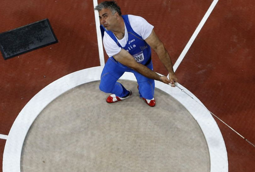 Włoch Nicola Vizzoni zajął ósme miejsce w finale (fot. Getty Images)