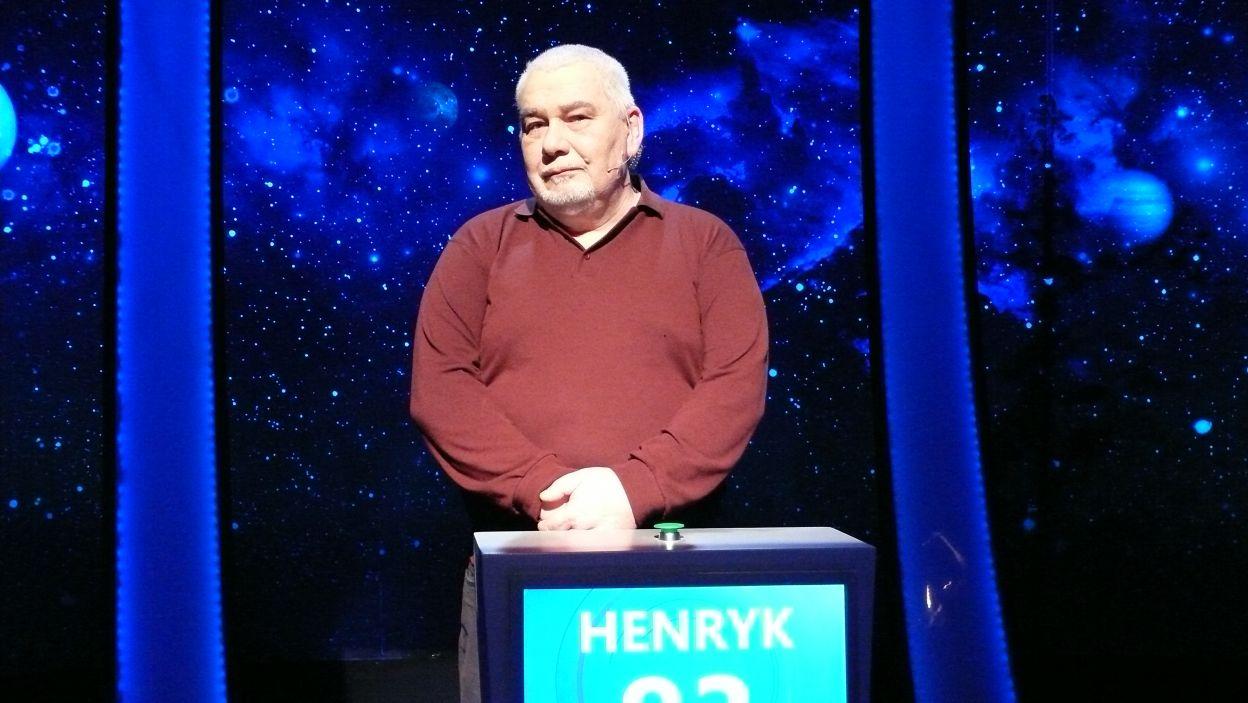 Henryk Smoleński - zwycięzca 11 odcinka 105 edycji