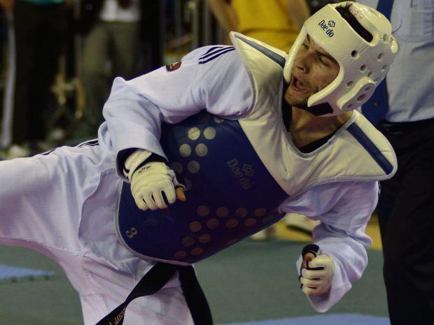 Michał Łoniewski przegrał swoją pierwszą walkę na IO (fot.PAP)