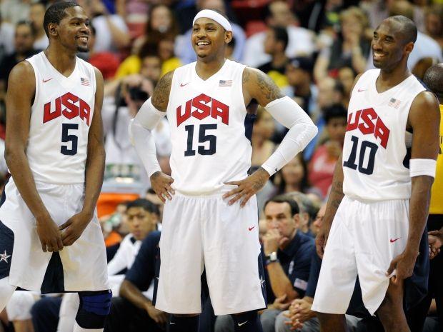 Według Arkadiusza Konieckiego turniej koszykarzy mogą ponownie zdominować Amerykanie (fot. Getty)