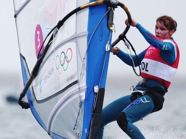 Zofia Noceti-Klepacka zdobyła czwarty medal dla polskiego żeglarstwa (fot. Getty Images)