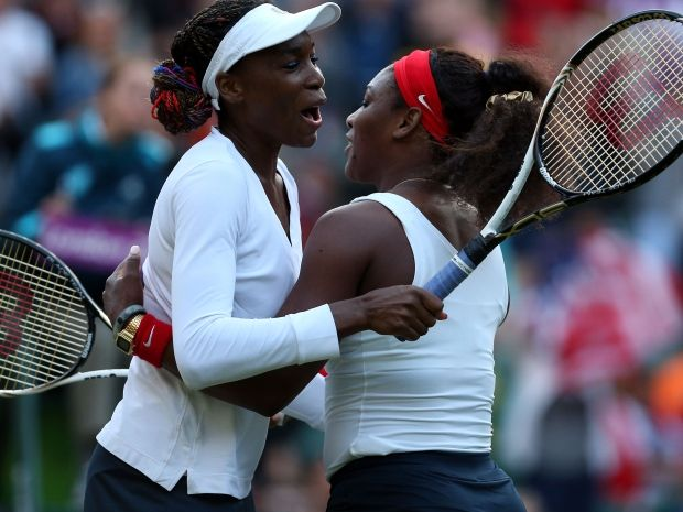 Siostry Williams po raz trzeci zdobyły złote medale w olimpijskim deblu (fot. Getty Images)