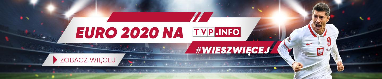 EURO 2020 w TVP INFO - baner na Mistrzostwa Europy 2021