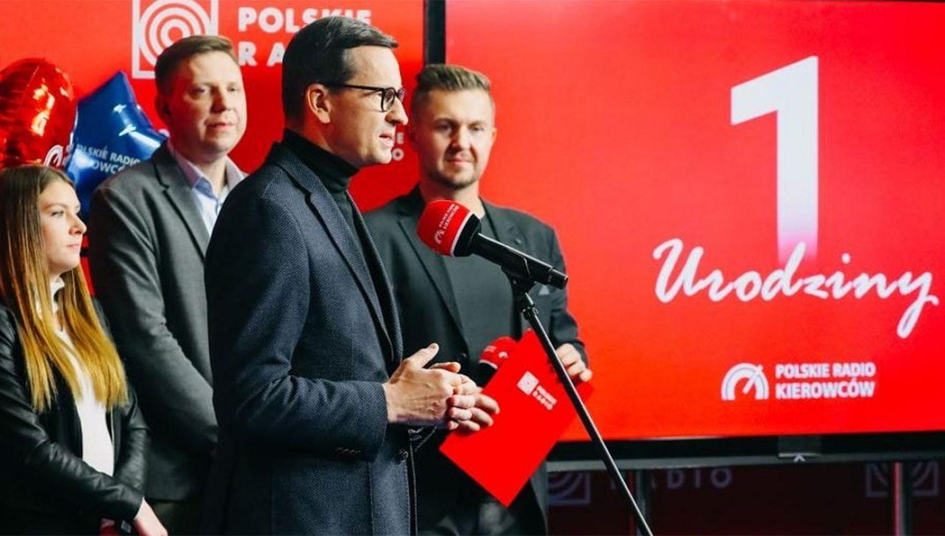 Premier Mateusz Morawiecki (fot. tt/@PremierRP)