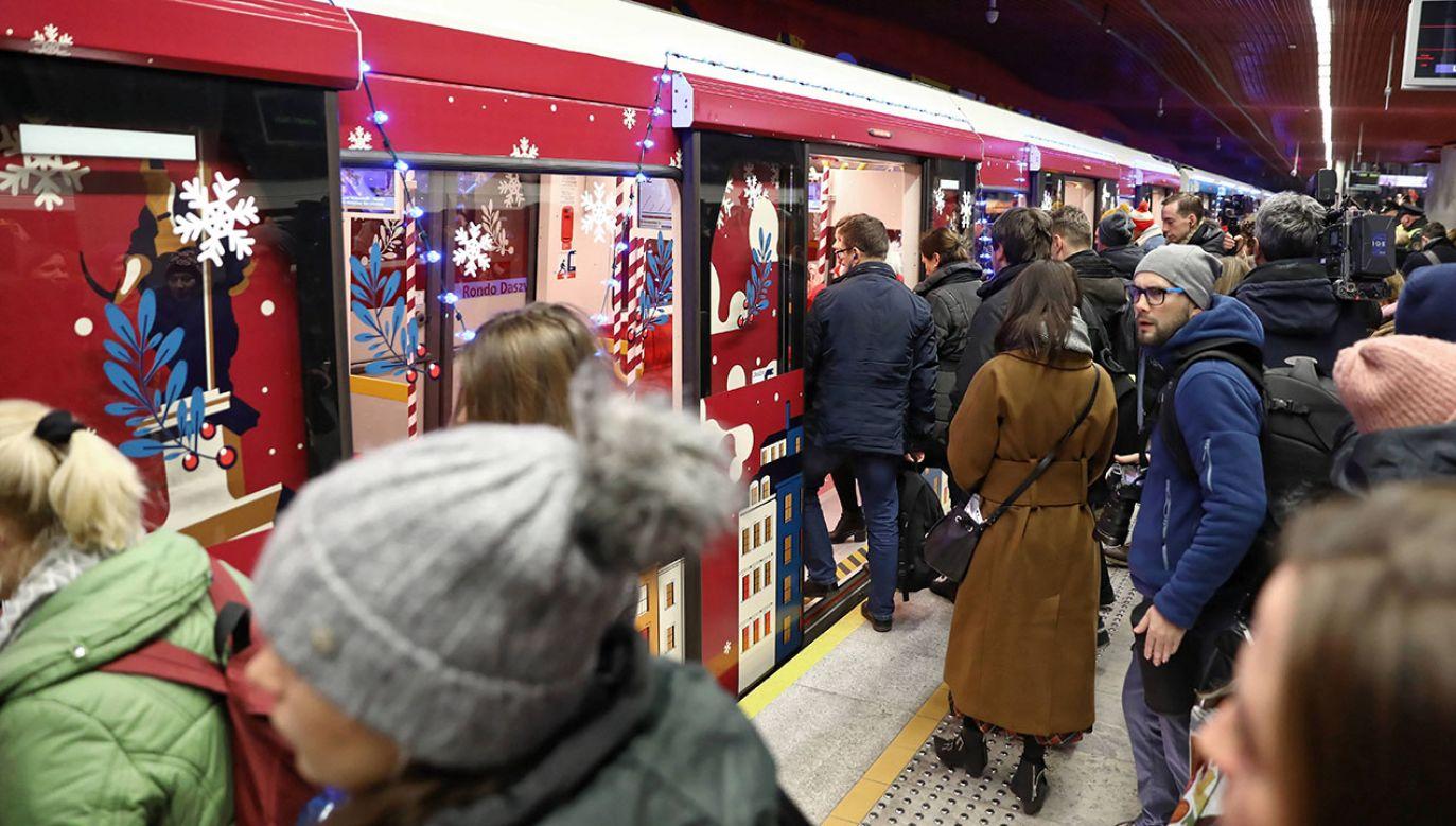 Z III linii metra przez Ochotę i Czerniaków korzystałoby najwięcej pasażerów. Ale Ratusz jej nie chce (fot. arch.PAP/Rafał Guz)