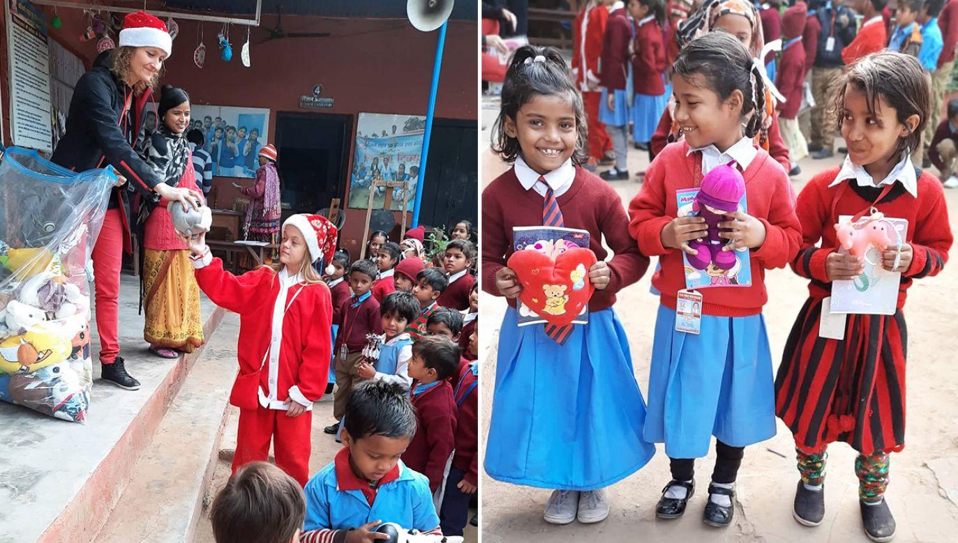 – Hindusi są bardzo tolerancyjni, a dzieci dogadują się fantastycznie (fot. Archiwum prywatne)
