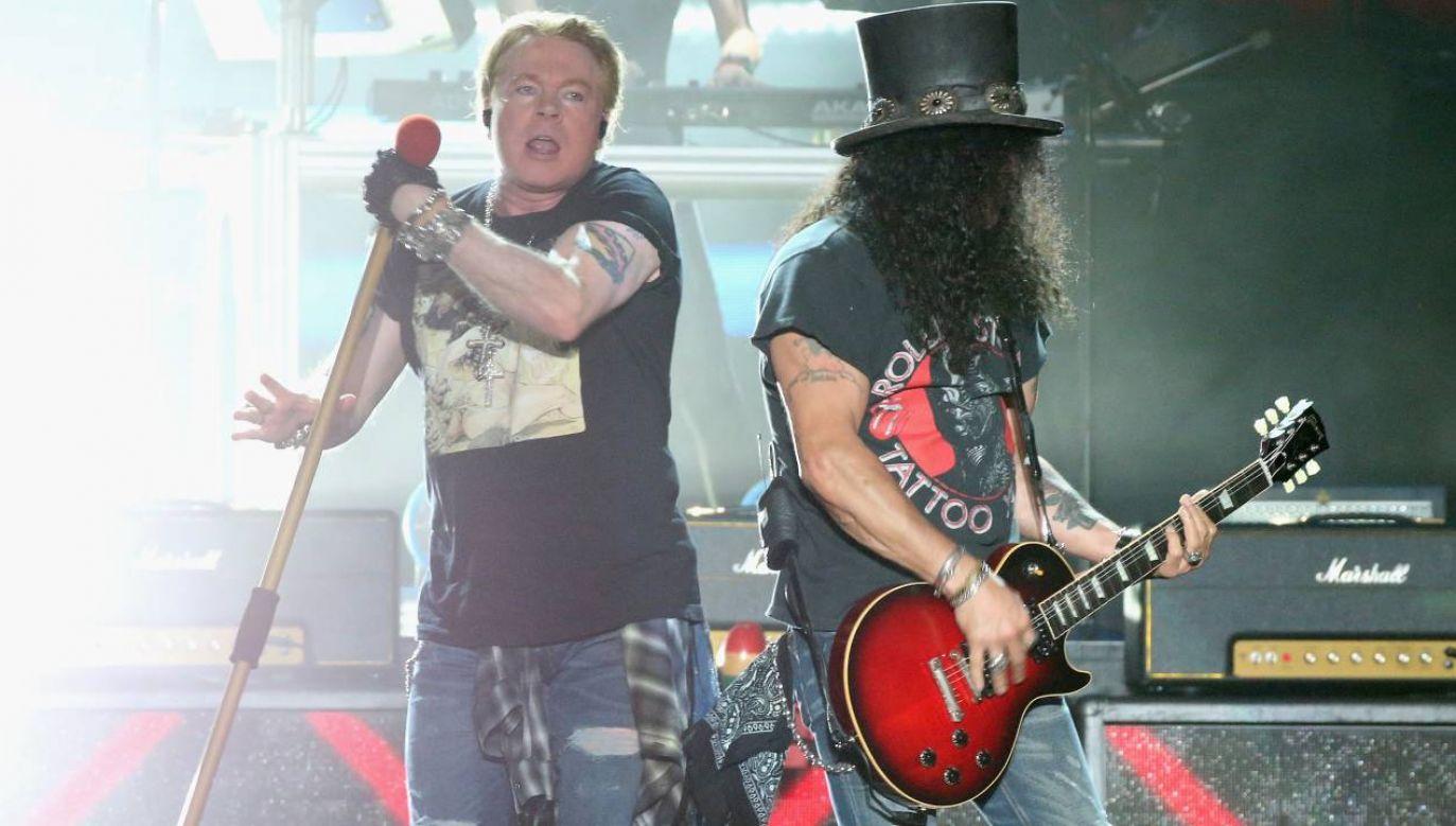 Guns N' Roses nie dokończyli występu (fot. Gary Miller/Getty Images)