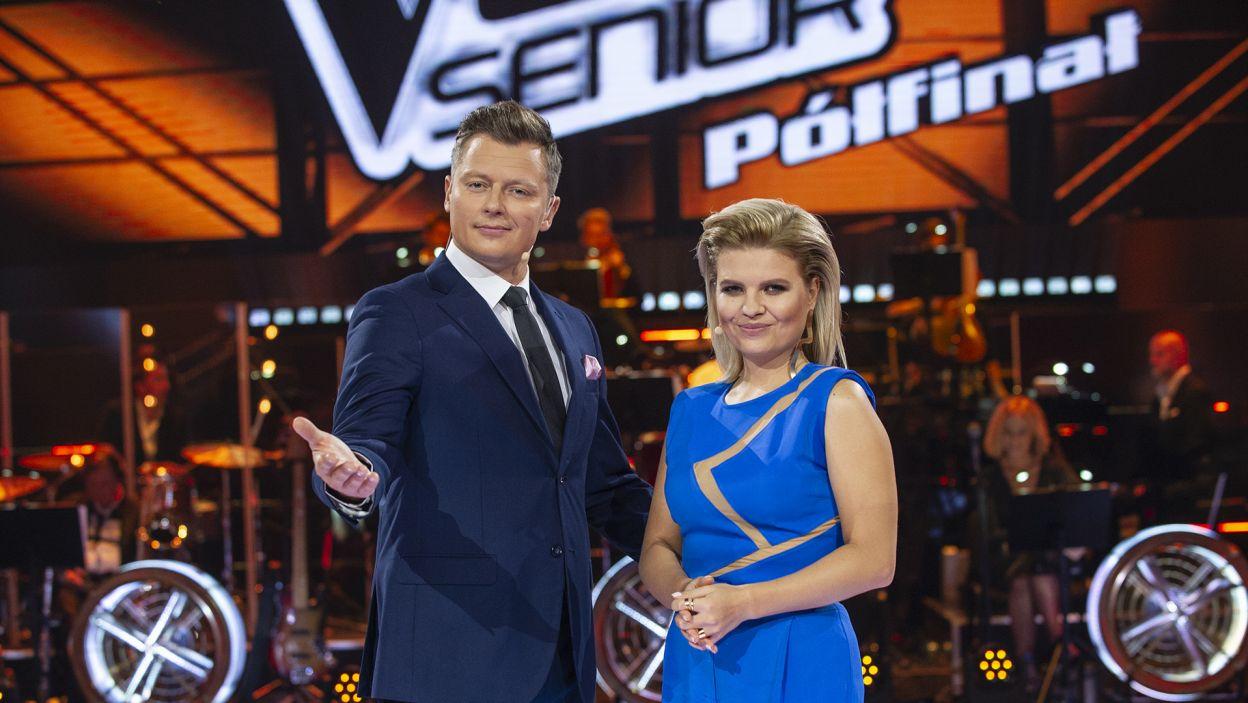 """Rozpoczynamy półfinał programu """"The Voice Senior""""! Kto trafi do wielkiego finału? (fot. TVP)"""