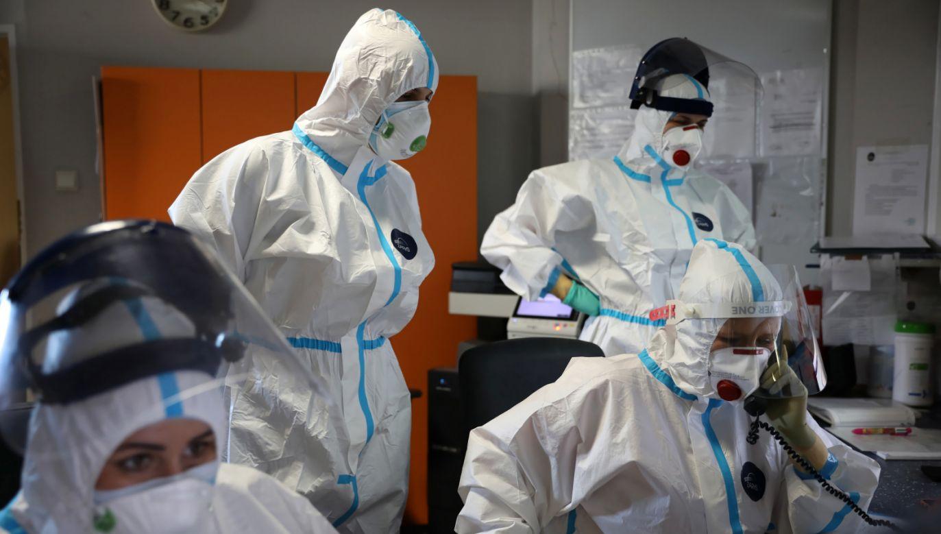 Nowe informacje o stanie epidemii w Polsce(fot. PAP/Leszek Szymański)