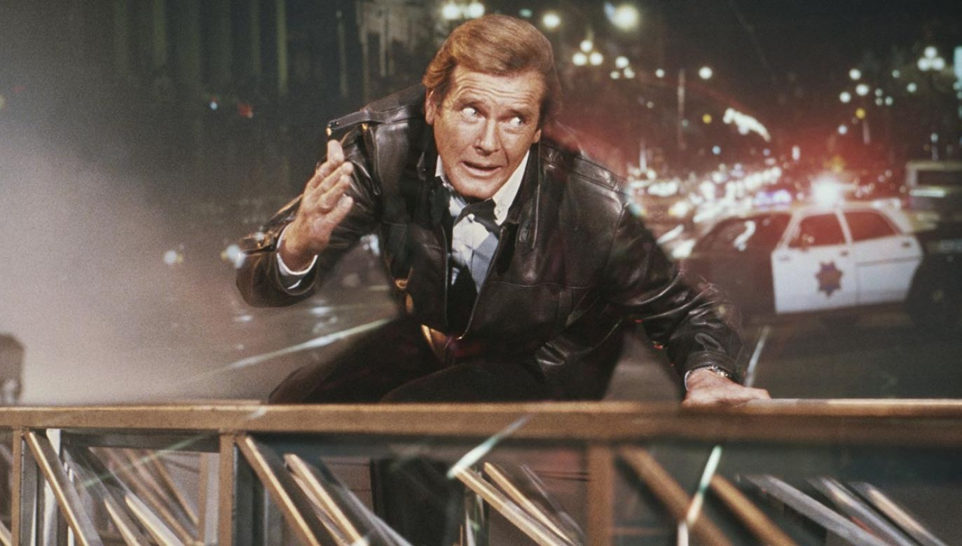 Roger Moore (fot. Keith Hamshere/Getty Images)