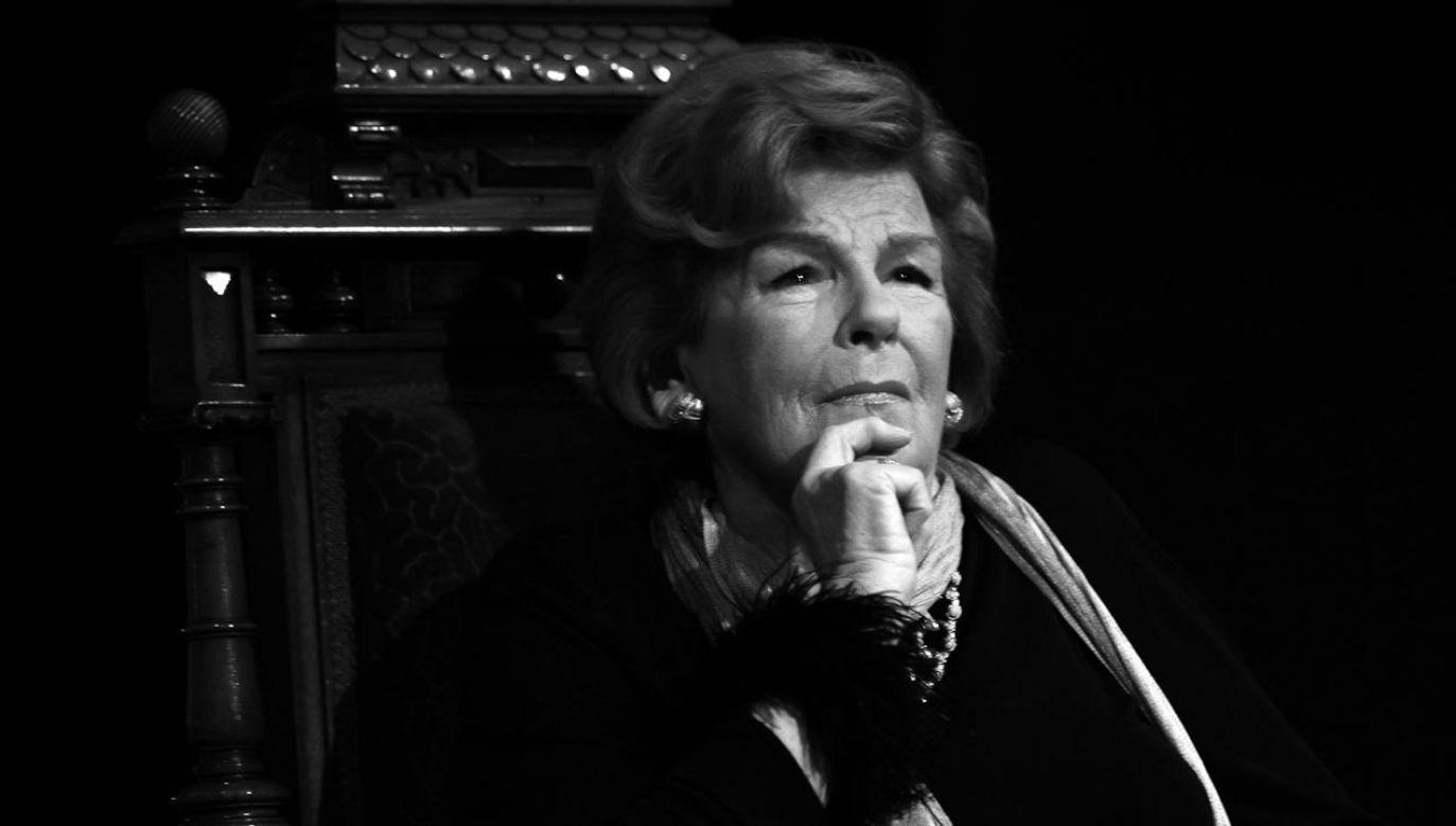 Maria Koterbska zmarła w poniedziałek w wieku 96 lat (fot. PAP/Andrzej Grygiel)