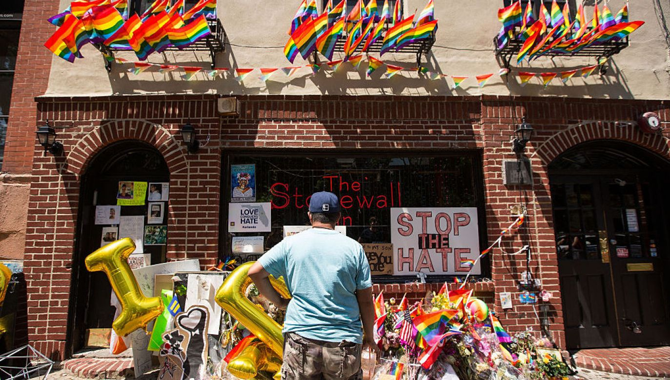 Stonewall Inn w Nowym Jorku (fot. Drew Angerer/Getty Images)