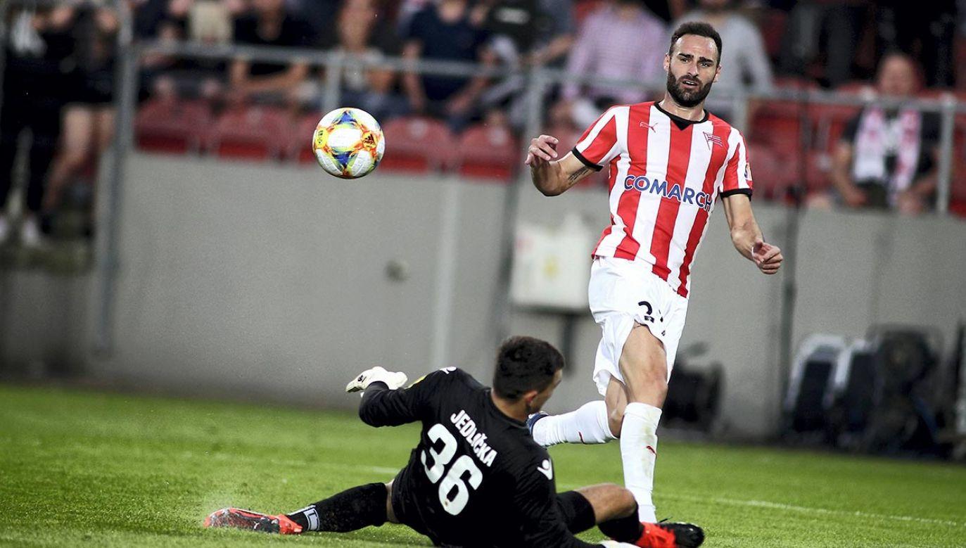 W minionym sezonie Rafael Lopes strzelił 11 bramek w 35 spotkaniach (fot. PAP/Łukasz Gągulski)