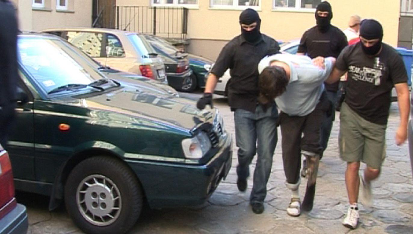 Proces gangsterów ma ruszyć w poniedziałek (fot.policja)