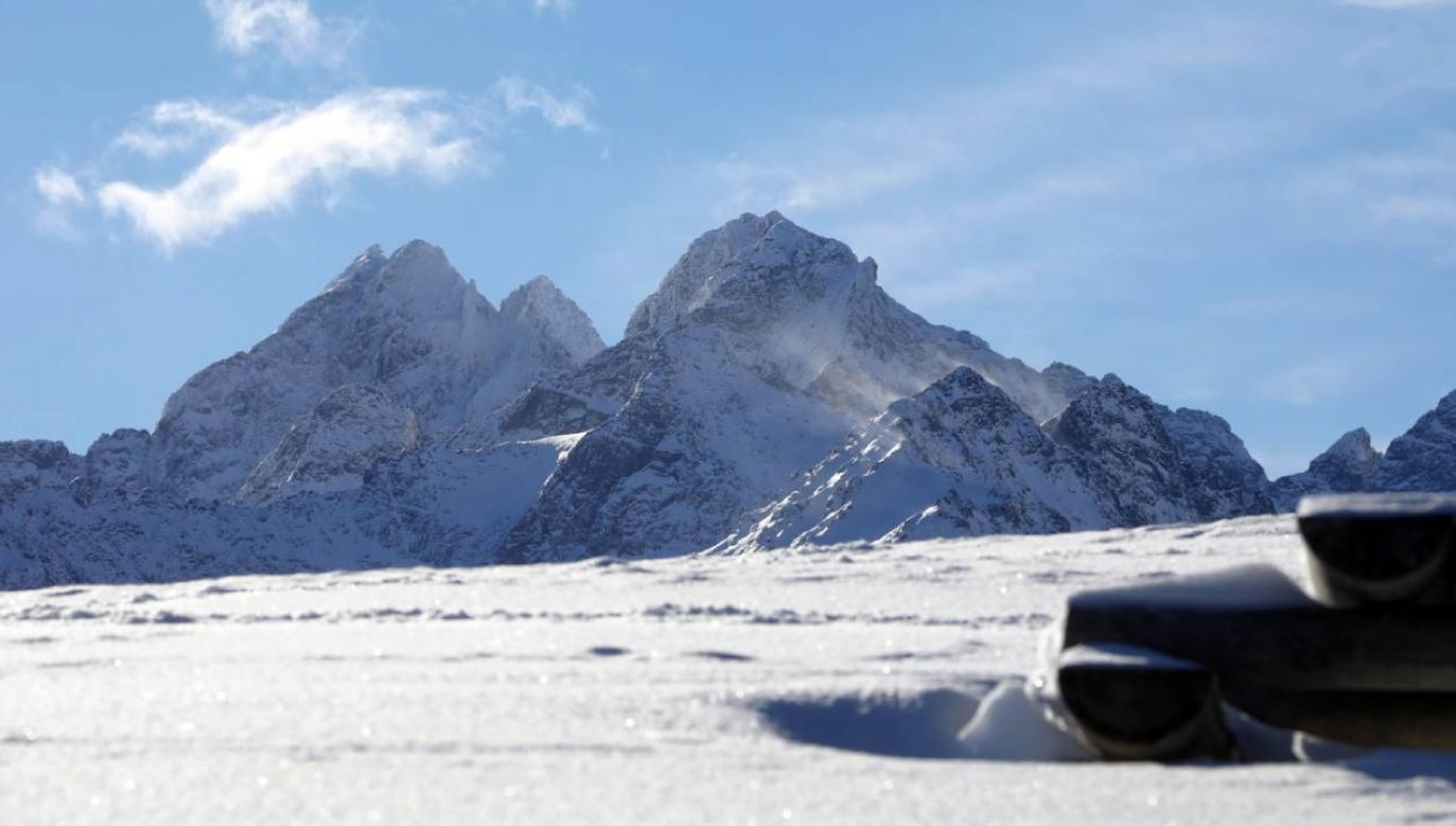 Na południu prognozowane są opady śniegu (fot. PAP/Grzegorz Momot)