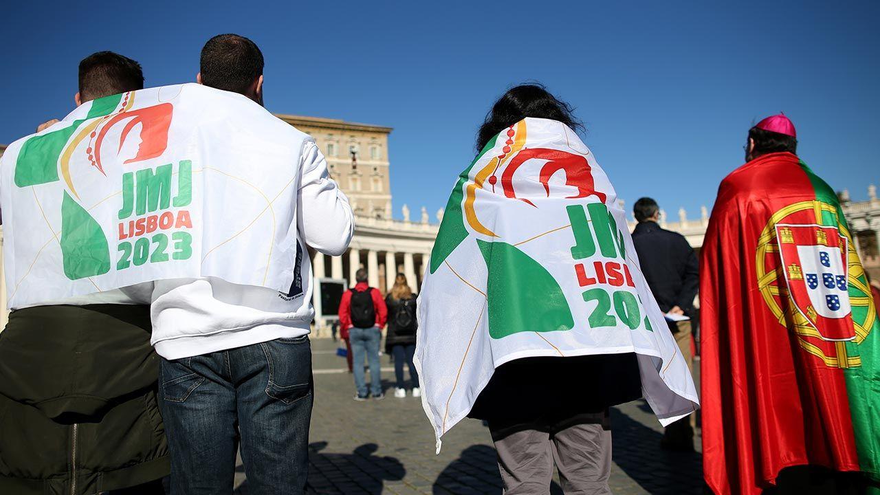 Na najbliższą edycję ŚDM do lizbońskiej aglomeracji przybędzie ponad 1,7 mln osób (fot. Franco Origlia/Getty Images)