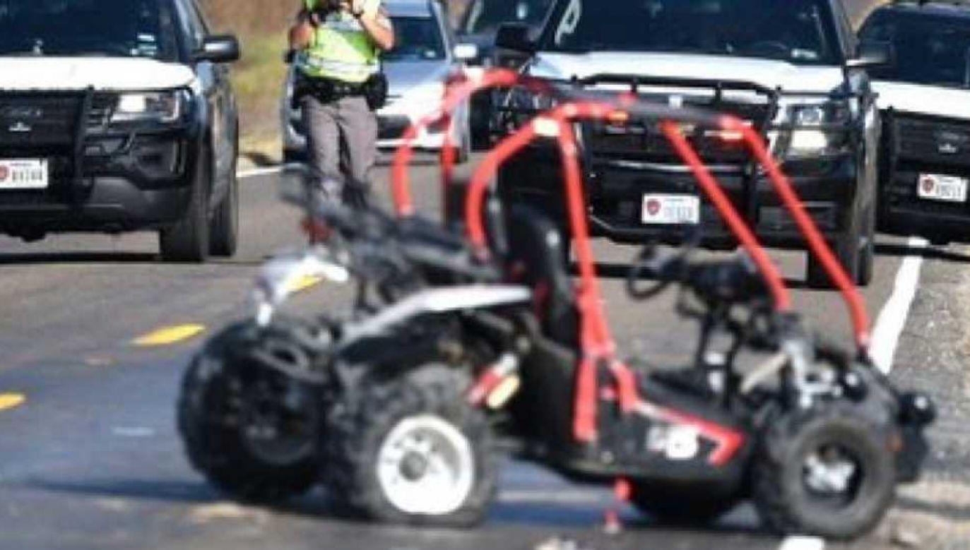 Policja ustala okoliczności tragedii (fot. College Mound Fire Department)